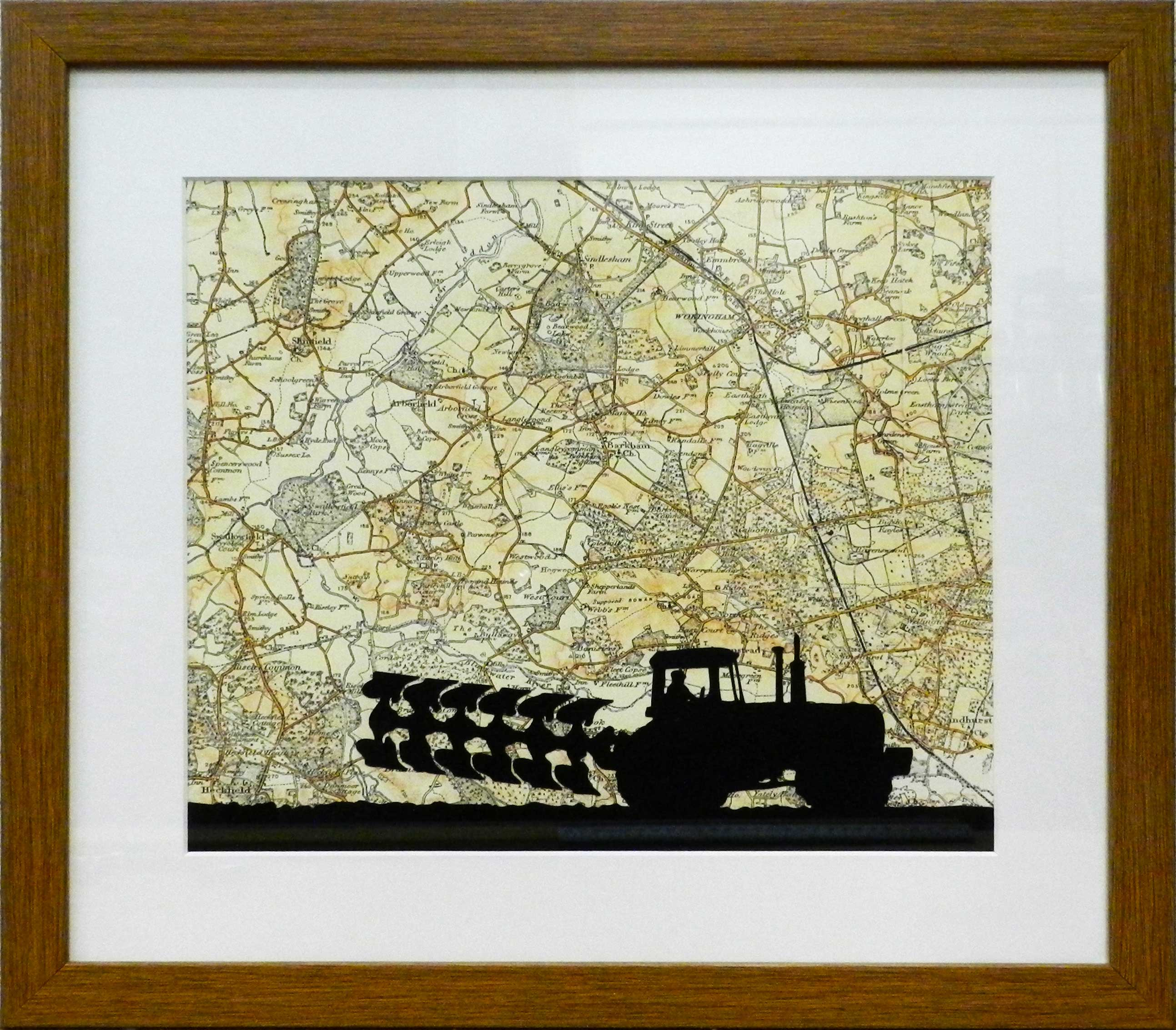 Tractor map